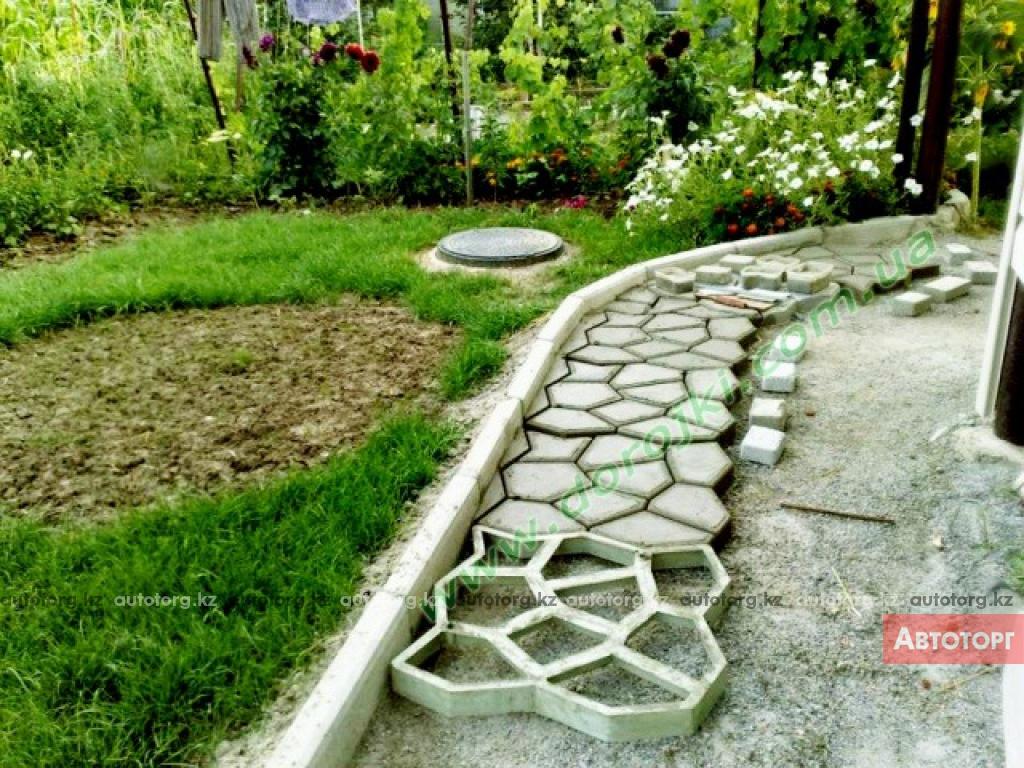 Садовая дорожка своими руками в домашних условиях