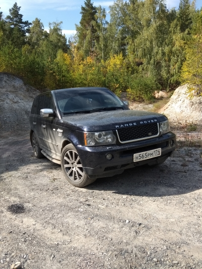 Автомобиль Land Rover Range Rover Sport 2008 года за 5500000 тг. в Рудном
