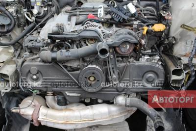 Двигатель на Субару Оутбак с объемом 2.5 двух распредвальный в городе Алматы