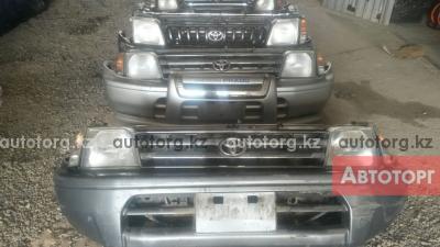 Бампер передний на Toyota Land Cruiser Prado 95 в городе Алматы