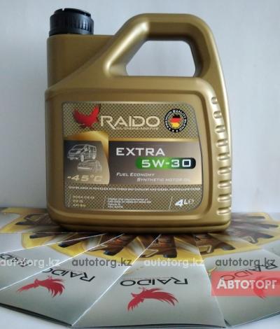 RAIDO Extra 5W-30 топливосберегающее... в городе Алматы