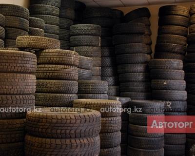 Зимние шины б/у из... в городе Алматы