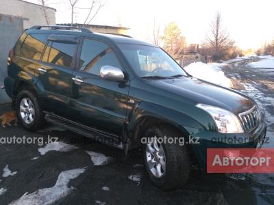 Автомобиль Toyota Land Cruiser Prado 120 2003 года за 5700000 тг. в Саране