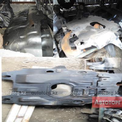 Защита двигателя и бензобака Toyota L C Prado .Hilux Surf 4Runner в городе Алматы