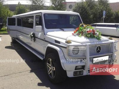 Лимузин Mercedes-Benz Gelandewagen на... в городе Астана