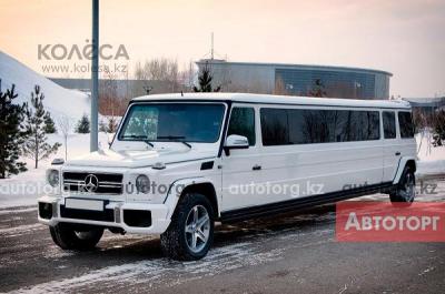 Лимузин Mercedes-Benz Gelandewagen G63... в городе Астана
