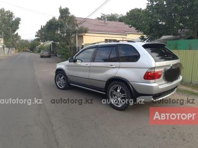 Автомобиль BMW X5 2001 года за 3000000 тг. в Алмате