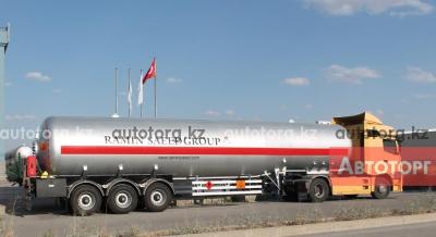 Спецтехника газовоз КамАЗ Dogan Yildiz 50 2016 года за 53 000 тг. в городе Астана