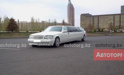 Лимузин Mercedes-Benz S-class W140... в городе Астана