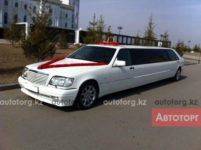 Прокат лимузина MB S-class... в городе Астана