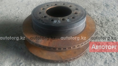 Задние тормозные диски Toyota Land Cruiser Prado 95 авторазбор в городе Алматы
