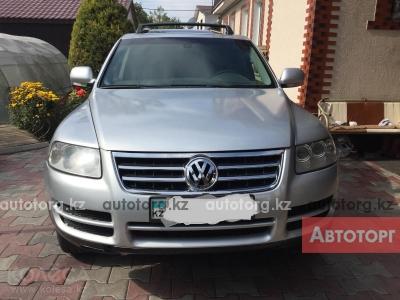 Автомобиль Volkswagen Touareg 2006 года за 3900000 тг. в Алмате