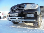 Защита бампера Toyota Land...  на Автоторге
