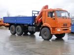 Алексеевка ХИММАШ автомобильный кран манипулятор КАМАЗ-43118 PK155002014 года  на Автоторге