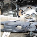 Защита двигателя и бензобака Toyota L C Prado .Hilux Surf 4Runner  на Автоторге