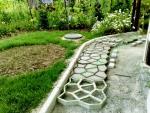 Формы для садовых дорожек...