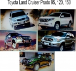 Запчасти для TOYOTA Land Cruiser Prado 150 120 95 90   на Автоторге