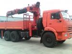 КамАЗ 43118 борт с кму и буровой навеской2015 года за 34 068 750 тг. на Автоторге