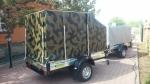 Курганмашзавод КМЗ 8284 41 для квадроцикла и грузов, камуфляж2014 года за 637 500 тг. на Автоторге