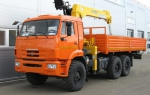 КамАЗ Бортовой автомобиль на шасси КАМАЗ-43118-46 КМУ ИТ-1502016 года  на Автоторге