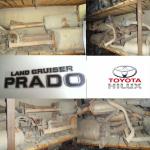 Глушитель на Toyota Toyota L C Prado .Hilux Surf 4Runner  на Автоторге