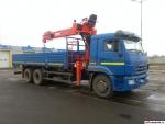 КамАЗ Бортовой КАМАЗ-65117-1029-00 с КМУ ЛВ190-062016 года  на Автоторге